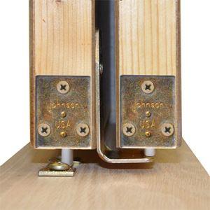 2040 Door Guide Cover Plate Johnsonhardware Com