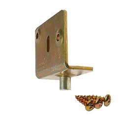 """Picture of 1723 Side Mount Bottom Pivot, 3/4"""" [19mm] Panel"""