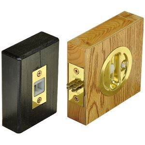 Picture of Auto-Latching Pocket Door Locks