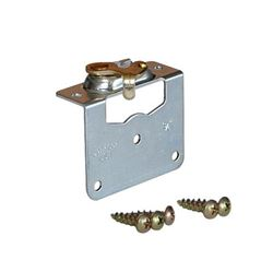 "Picture of 1032 Side Mount Hanger Plate 3/4"" [19mm] Door"