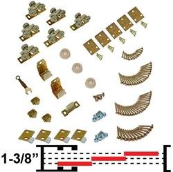 "Picture of 100MP 3-Door Part Set, 1-3/8"" [35mm] Doors"