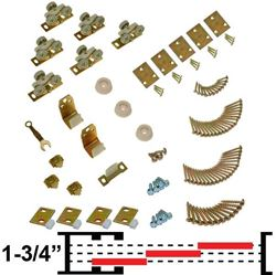 "Picture of 100MP 3-Door Part Set, 1-3/4"" [44mm] Doors"