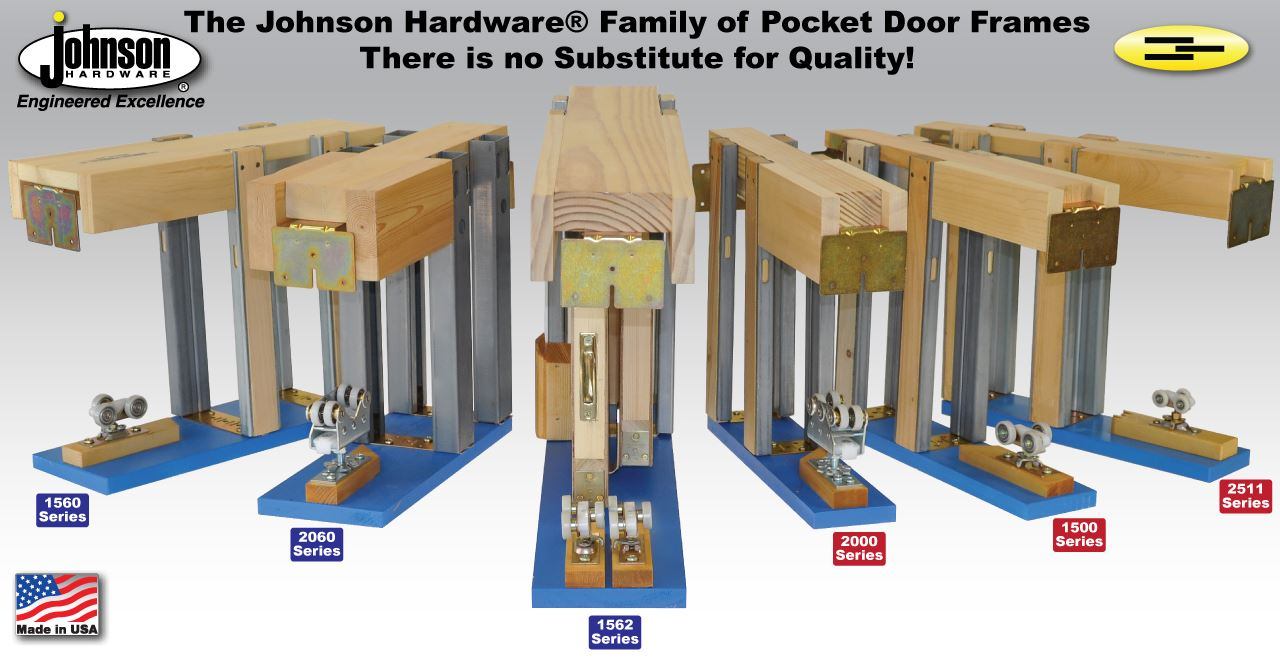 Pocket Door Hardware | Johnsonhardware com | Sliding