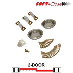 Picture of 1031SC02 2-Door Soft-Close Part Set
