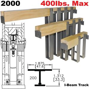 Picture of 2000 Series Heavy-Duty Pocket Door Frame Kits