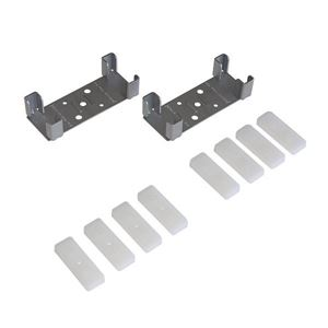 """Picture of 1574 4"""" [100mm] Steel Stud Wall Adaptor Kit"""