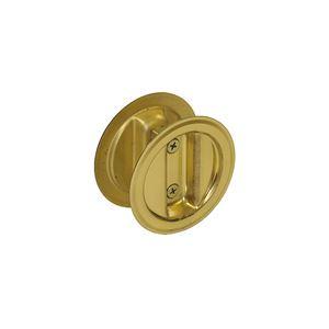 """Picture of 21-3PPK2 Pocket Door Lock Dummy Pull Set, 1-3/8"""" Door"""