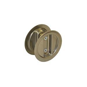 """Picture of 21-15PK2 Pocket Door Lock Dummy Pull Set, 1-3/8"""" Door"""