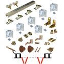 """Picture of 111FD 48"""" [1219mm] Track, 4-Panel Hardware Set"""