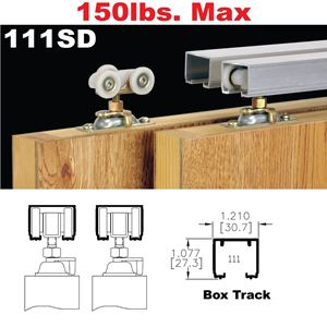 Picture of 111SD Sliding Bypass Door Hardware