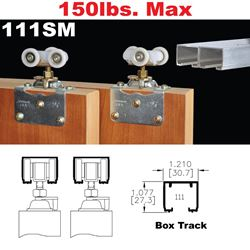 Picture of 111SM Side Mount Sliding Bypass Door Hardware