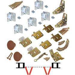 """Picture of 17313403 1700FS 4-Panel Part Set, 3/4"""" [19mm] Door"""