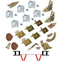 """Picture of 17311803 1700FS 4-Panel Part Set, 1-1/8"""" [29mm] Door"""